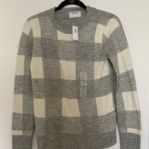 Old Navy Plaid Sweater